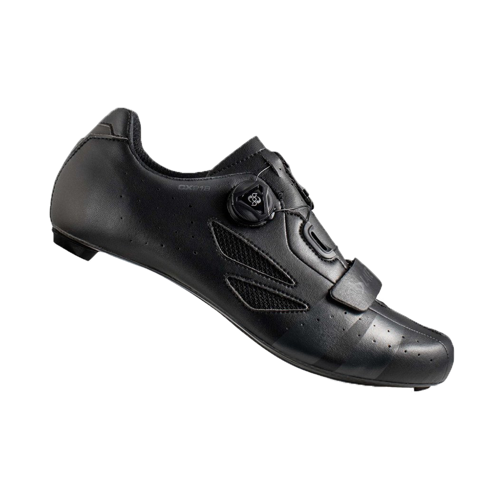 Lake-CX218-Carbon-Road-Shoes-2019-Black-Grey